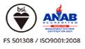 ISO 9001:2008〔FS 501308〕